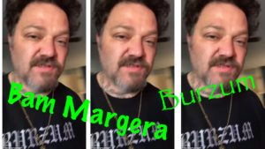 Bam Margera Wears Burzum Tshirt, World Does Not LoseMind
