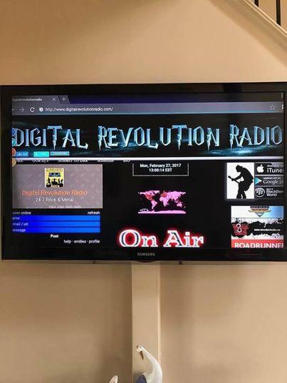 #DigitalRevolutionRadio  www.digitalrevolutionradio.com Listen to the best shows on the net