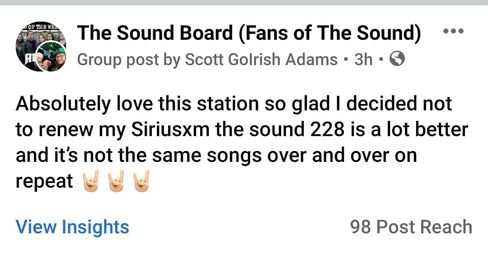 This comment means us lot to us. We wanted to make an app that showcased all of the music we felt wasn't getting the att…