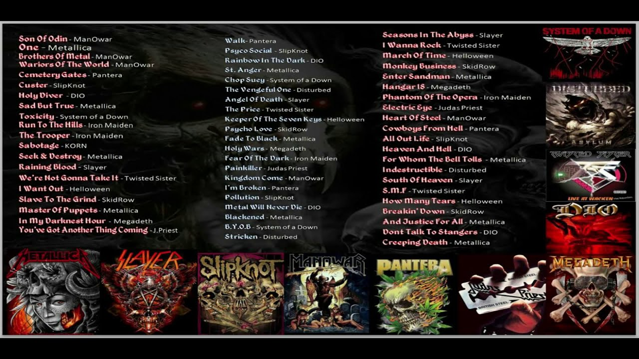 Heavy Metal Songs Collection 🤟🤟