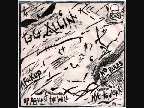 GG Allin and the Jabbers – No Rules 7′