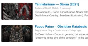 Death Metal Blogs