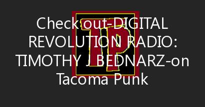 Digital Revolution Radio: Timothy J Bednarz