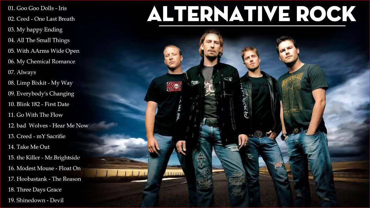 Alternative Rock Hits – Best Alternative Rock Of 90s 2000 –  Rock Songs Collection