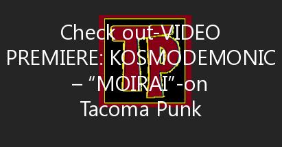 """Video Premiere: Kosmodemonic – """"Moirai"""""""
