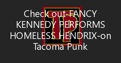 Fancy Kennedy Performs Homeless Hendrix