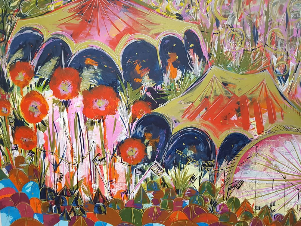 Why we love festivals, and how they inspired my artworks