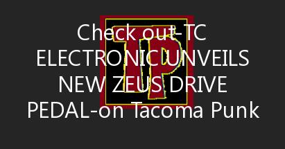 TC Electronic Unveils New Zeus Drive Pedal