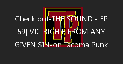 The Sound – Ep 59| Vic Richie from Any Given SIn