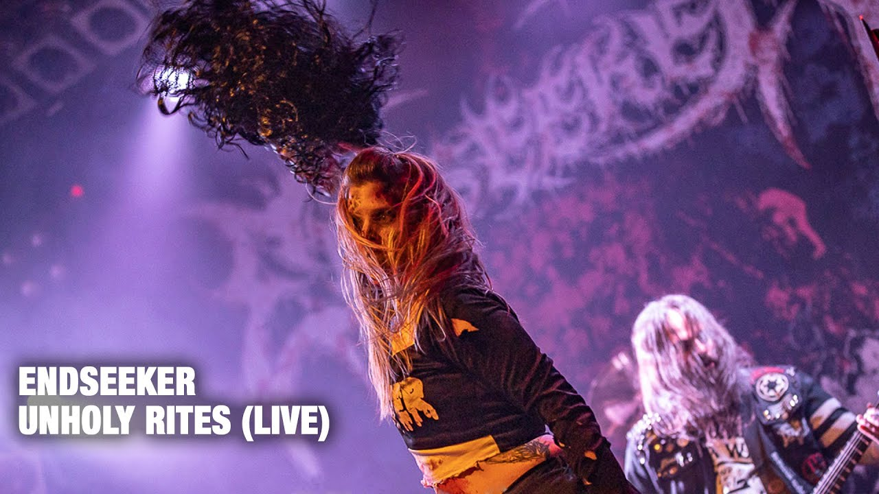 Endseeker – Unholy Rites (OFFICIAL LIVE VIDEO)